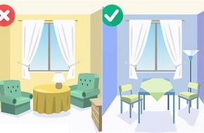 10 mẹo bố trí nội thất giúp nhà chật trở nên rộng rãi và thoáng mát
