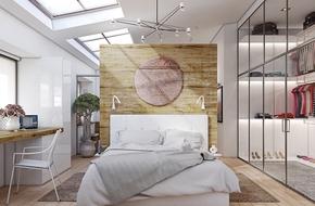 10 mẫu phòng ngủ có thiết kế lưu trữ đẹp không góc chết