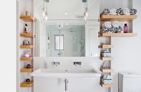 Giá đựng đồ - xu hướng ngày càng phổ biến trong nhà tắm