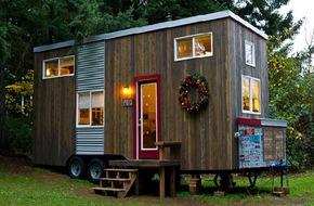 Ngôi nhà nhỏ xinh vô cùng đáng yêu vì có thể di chuyển đến bất cứ đâu
