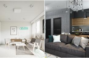 Hai căn hộ dưới 30m² của hai cặp vợ chồng trẻ hoàn hảo ở mọi góc nhìn