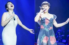 Khánh Linh - Mỹ Linh sưởi ấm ngày đông trong đêm nhạc Dương Thụ