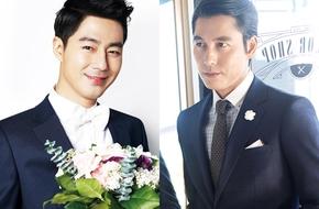 """Jo In Sung tái xuất 7 năm sau """"Song hoa điếm"""", sánh vai Jung Woo Sung"""