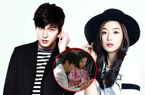 Rò rỉ clip Lee Min Ho vuốt tóc, nhảy lên xe đạp của Jun Ji Hyun