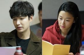 Lee Min Ho đẹp trai ngời ngời bên Jun Ji Hyun trong buổi đọc kịch bản phim