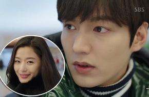 Lee Min Ho ngây người vì Jun Ji Hyun quá xinh, nổi cơn ghen với người qua đường