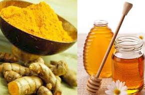 Cách chữa đau dạ dày hiệu quả từ nghệ và mật ong