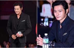 Jang Dong Gun vẫn được khen phong độ dù lộ nhiều nếp nhăn