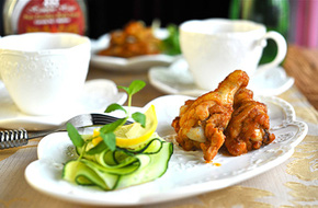 Món ngon cuối tuần: Cánh gà nướng mật ong