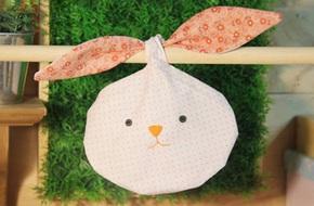 Khéo tay làm túi thơm hình đầu chú thỏ đáng yêu