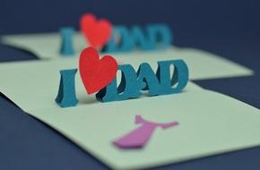 Tự làm thiệp nổi tặng cha nhân ngày Father's day