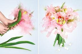 Cách bó hoa đẹp và dễ dàng cùng giấy gói hoa cách điệu