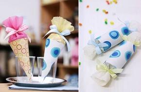 2 cách gói quà đẹp ngọt ngào dễ thương tặng bé
