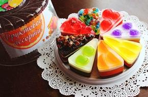 Tự chế xà bông hình bánh kem siêu xinh yêu