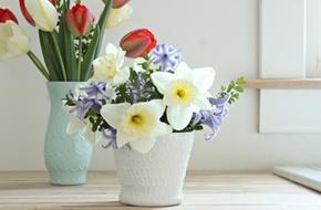 F5 lọ hoa đẹp xinh chỉ trong nháy mắt!