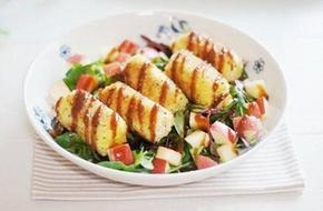 Cách làm salad khoai tây kiểu mới đẹp mắt lạ miệng