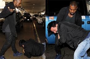 Kanye West đánh gục 1 paparazzi ngay tại sân bay