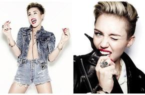Miley Cyrus thích lè lưỡi để mọi người đỡ nhàm chán