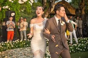 Đám cưới đẹp như mơ của nam diễn viên