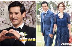 Vợ chồng Kim Nam Joo nắm chặt tay tình cảm khi đi dự đám cưới