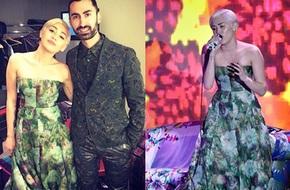 Miley Cyrus trở lại đầy nữ tính tại giải World Music Awards