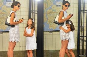 Mẹ con bé Suri đi tàu điện ngầm để tiết kiệm tiền