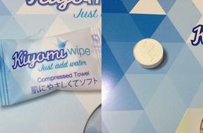 Ra mắt sản phẩm khăn giấy nén không hóa chất có thể tái sử dụng 10 lần