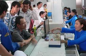 Ga Sài Gòn bắt đầu cho đăng ký vé tàu Tết