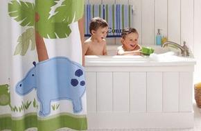 5 ý tưởng trang trí phòng tắm siêu dễ thương cho bé