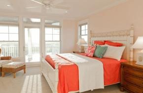Mang sức sống đến cho căn nhà với màu cam đào