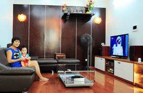 Thăm căn hộ có không gian bếp hoàn hảo tại Dịch Vọng – Hà Nội