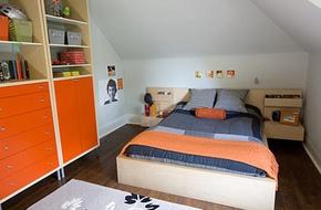 Nội thất màu cam - sự hấp dẫn cho không gian hiện đại