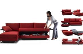 3 mẫu sofa đa năng thích hợp cho nhà chật