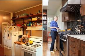 Cải tạo căn bếp tiện nghi với chi phí thấp nhờ tận dụng đồ cũ