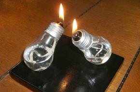 5 gợi ý biến bóng đèn cũ thành đồ trang trí nhà đẹp mắt
