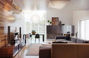 Tư vấn cải tạo để căn hộ 50m² có 2 phòng ngủ
