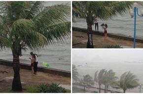 'Cảm động đến bàng hoàng' cặp đôi bất chấp tất cả để làm việc không thể ngờ trong cơn bão