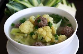 Canh súp lơ thịt bò ngọt mềm cực chất!