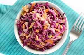 Salad bắp cải mát giòn cho da đẹp dáng thon