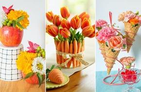 3 ý tưởng cắm hoa đẹp theo chủ điểm mùa thu