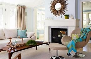 10 'tuyệt chiêu' thiết kế phòng khách cực chuẩn
