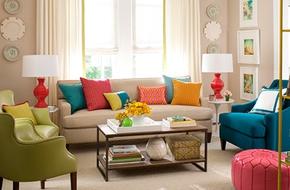 Những giải pháp trang trí phòng khách (P.1)