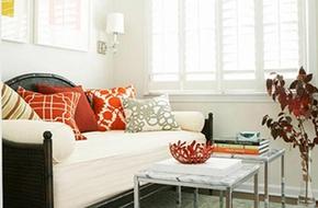 Điểm nhấn màu cam cho căn hộ thêm cá tính