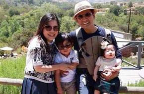 """Hình ảnh gia đình viên mãn của """"Jang Dong Gun"""" Việt Nam"""
