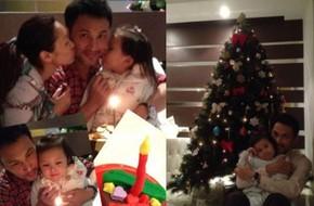 Gia đình Quách Khả Doanh hân hoan đón Noel