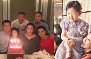 Hình ảnh mới về con gái nhỏ bị dị tật của Vương Phi