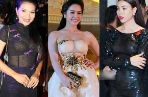 Lỗi thời trang khiến sao Việt