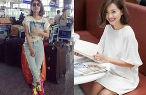 F5 phong cách cho MC Quỳnh Chi - Quý cô chỉ biết đến quần jeans và áo phông