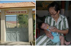 Hình ảnh đáng yêu đến nhói lòng của những em bé lớn lên ở trại giam