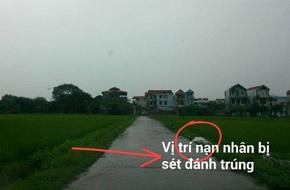 Thái Nguyên: Đi xe máy dưới trời mưa, một phụ nữ bị sét đánh tử vong